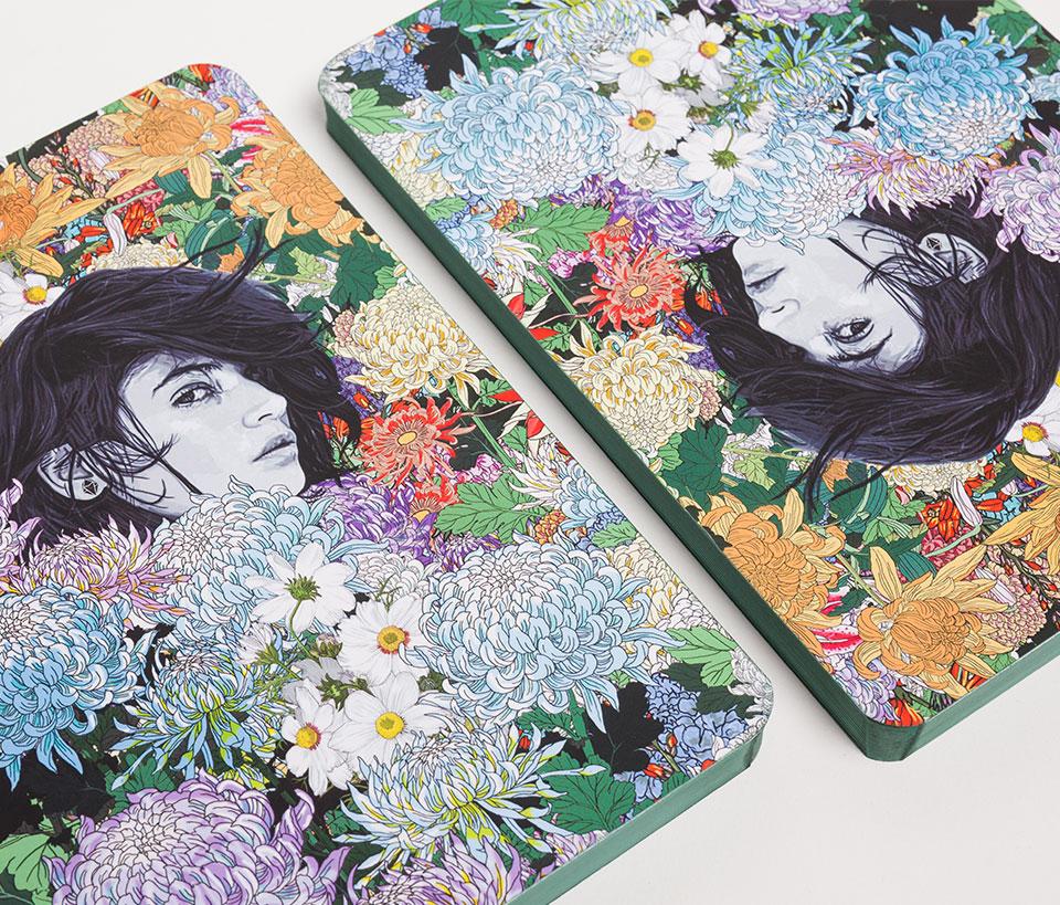 Cuaderno ilustrado Amelia - Reina de Diamantes