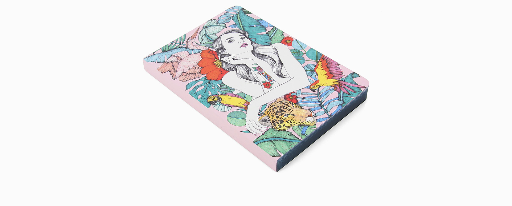 Cuaderno ilustrado Alma - Reina de Diamantes