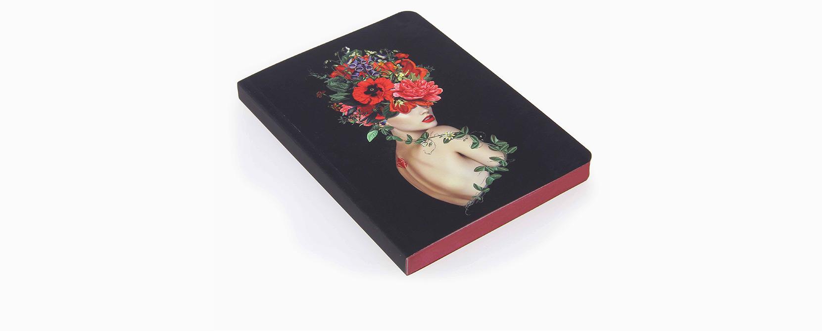 Cuaderno ilustrado Simone - Reina de Diamantes