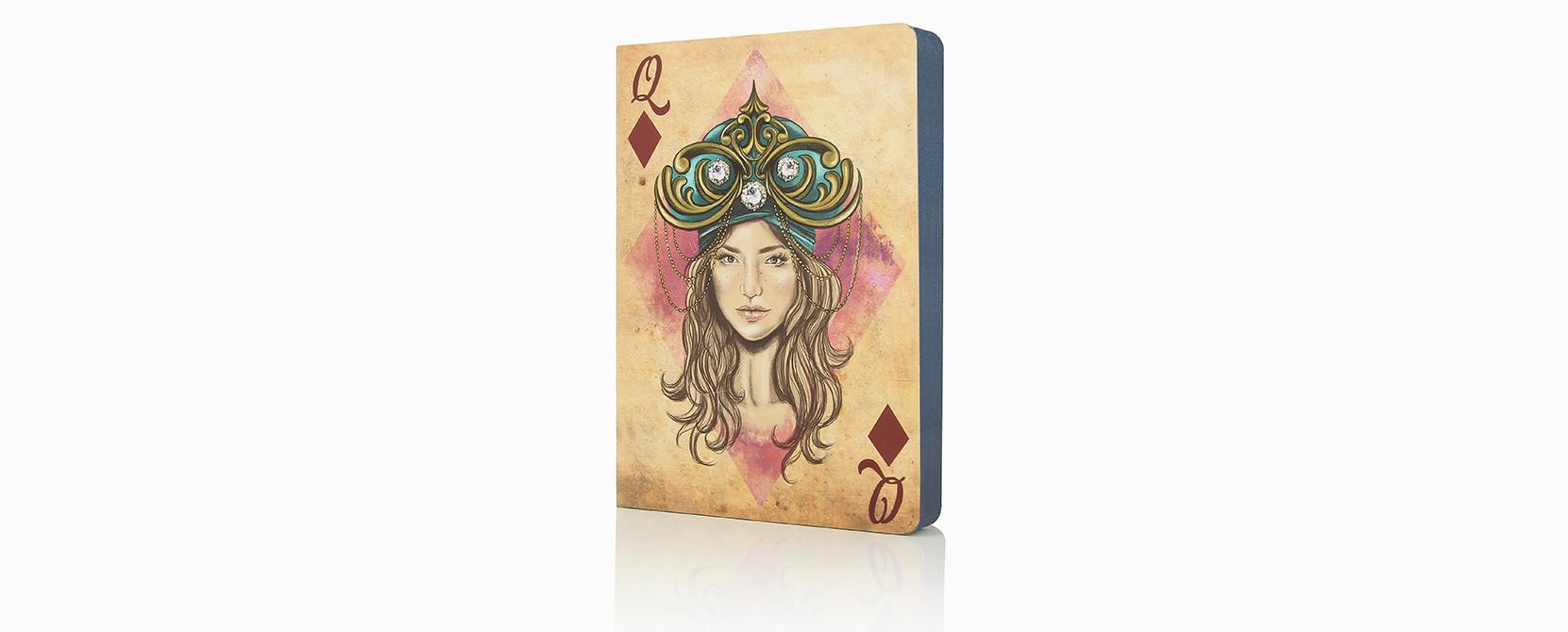Cuaderno ilustrado Tamar - Reina de Diamantes