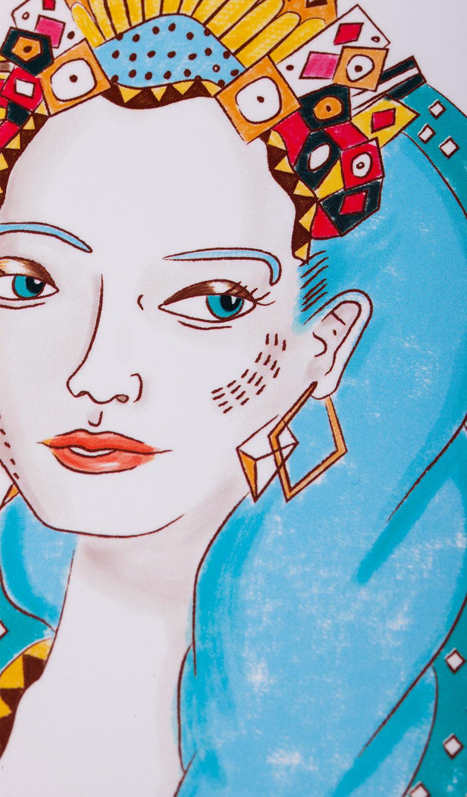 Cuaderno ilustrado Sibila – Reina de Diamantes