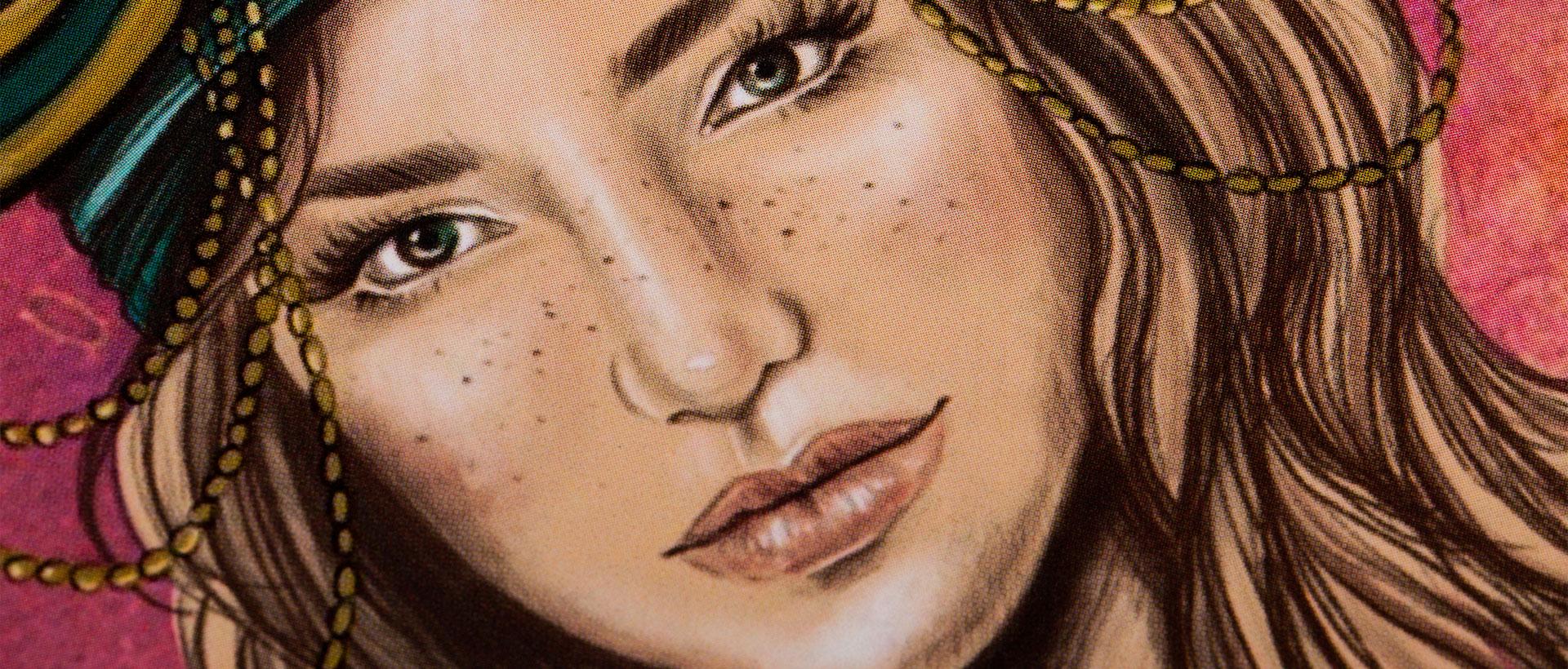 Cuaderno ilustrado Tamar – Reina de Diamantes