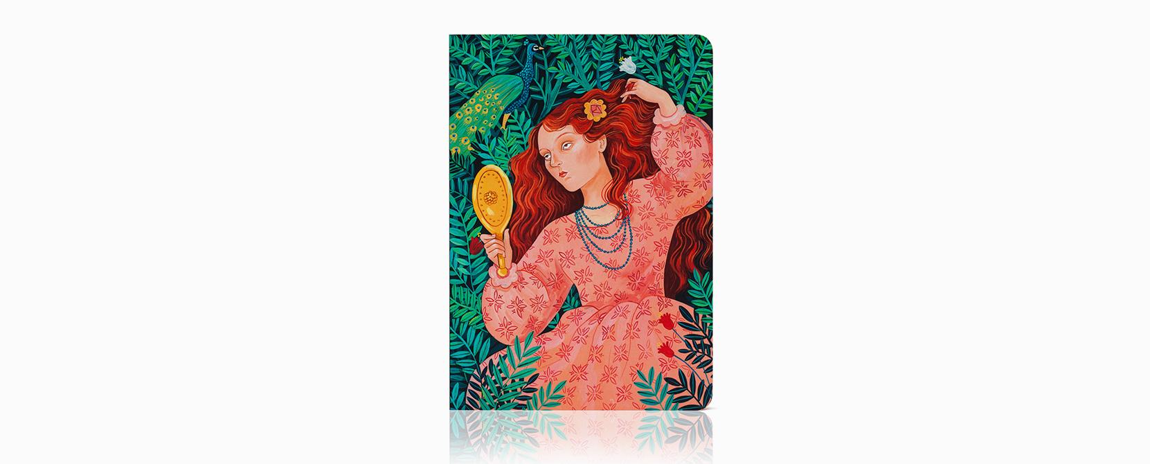 Cuaderno ilustrado Hedy - Reina de Diamantes