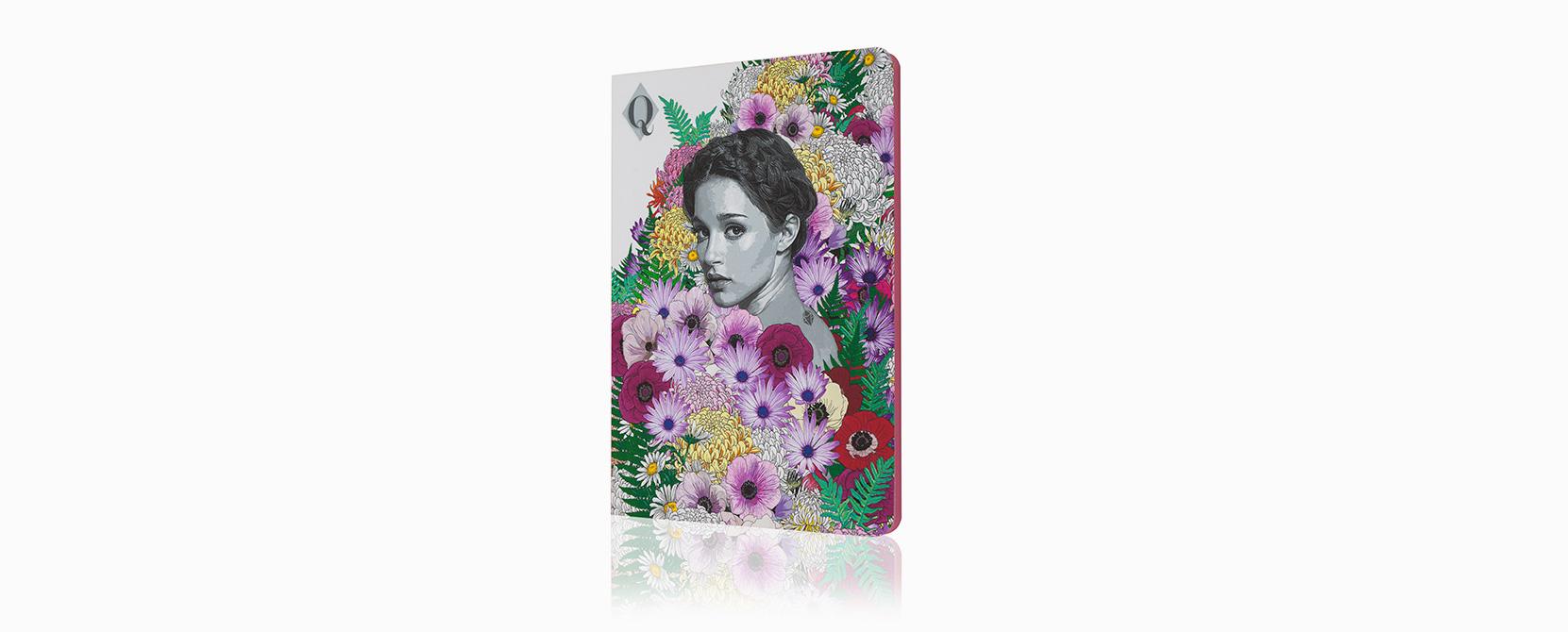 Cuaderno ilustrado Lynn - Reina de Diamantes