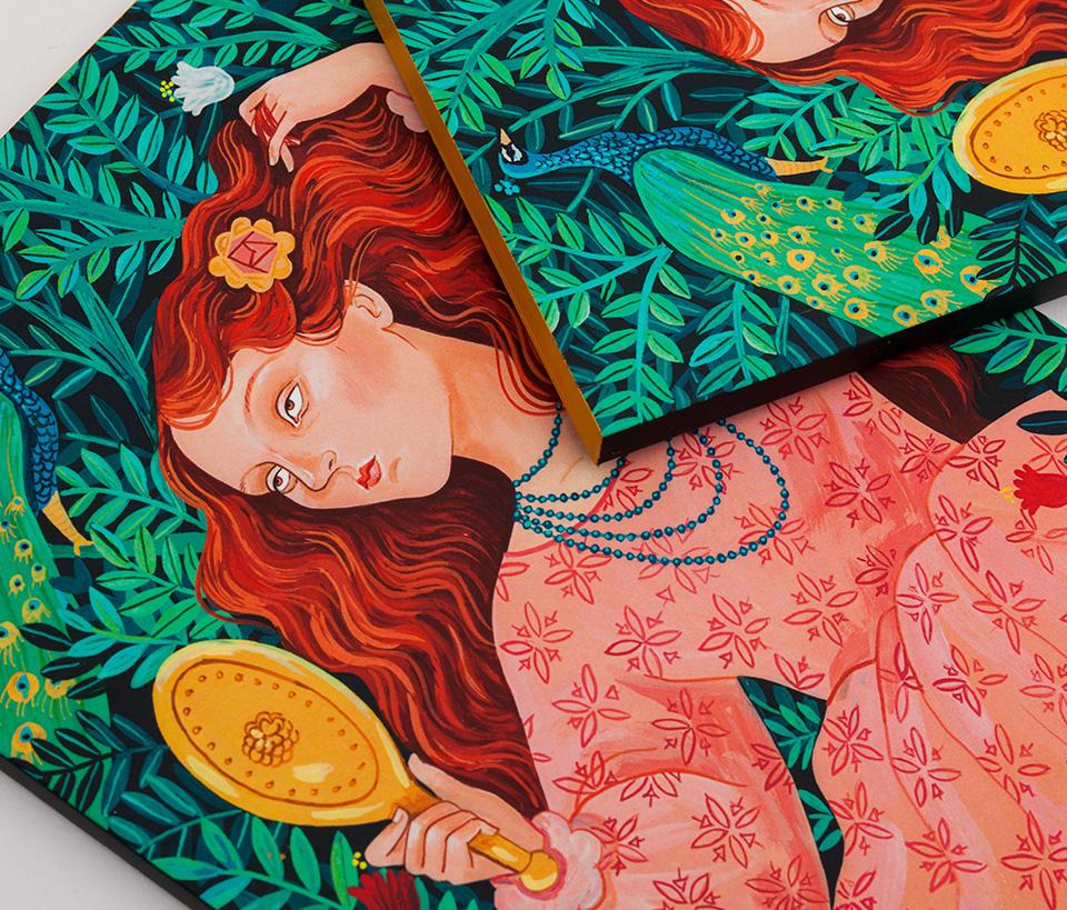 Cuaderno ilustrado Hedy – Reina de Diamantes