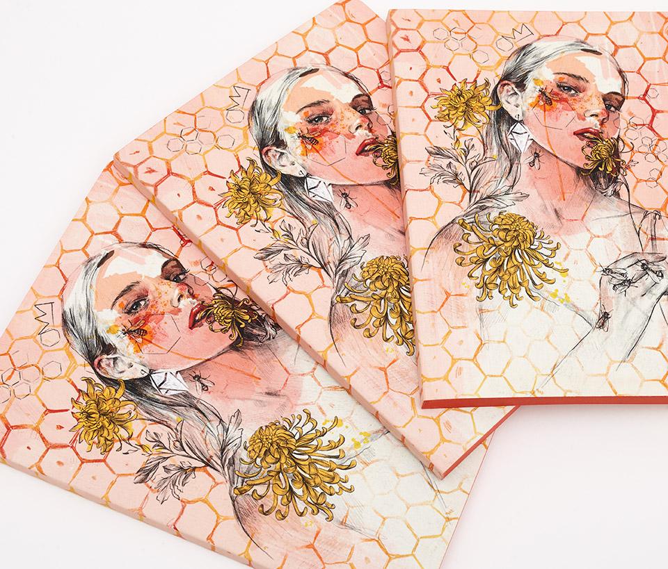 Cuaderno ilustrado Anna - Reina de Diamantes