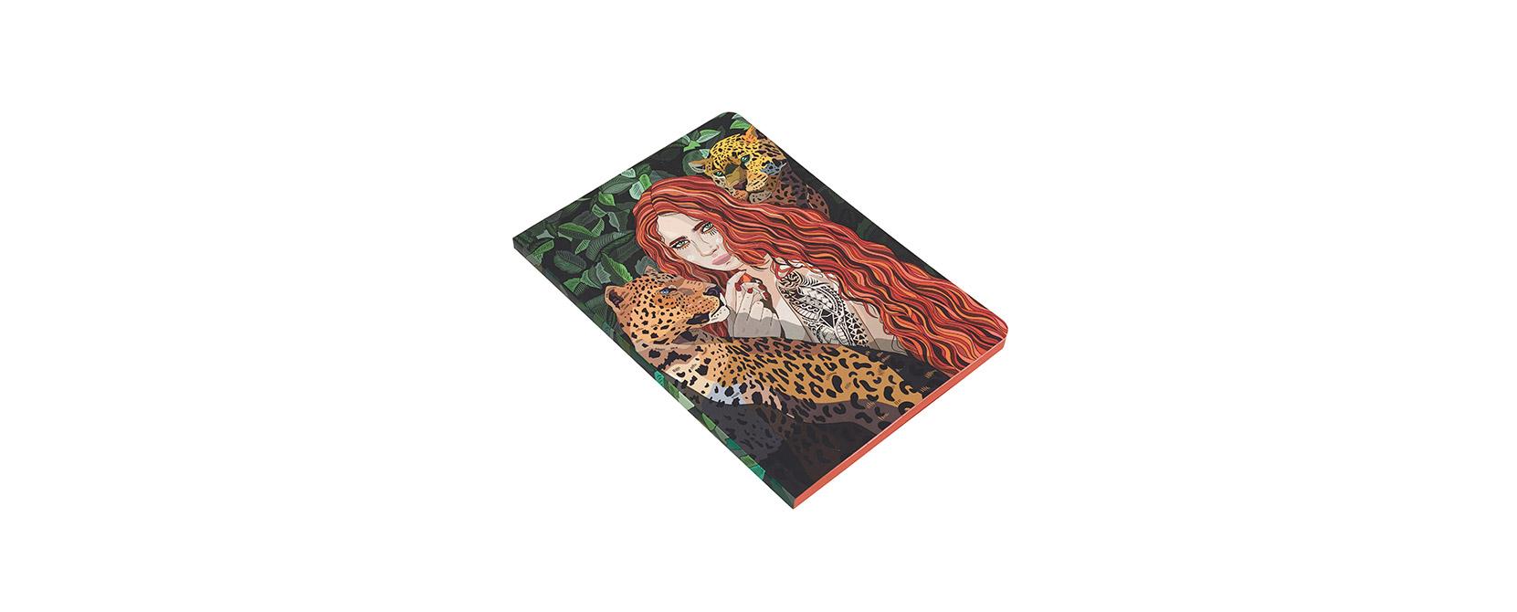 Cuaderno ilustrado Gertrude - Reina de Diamantes
