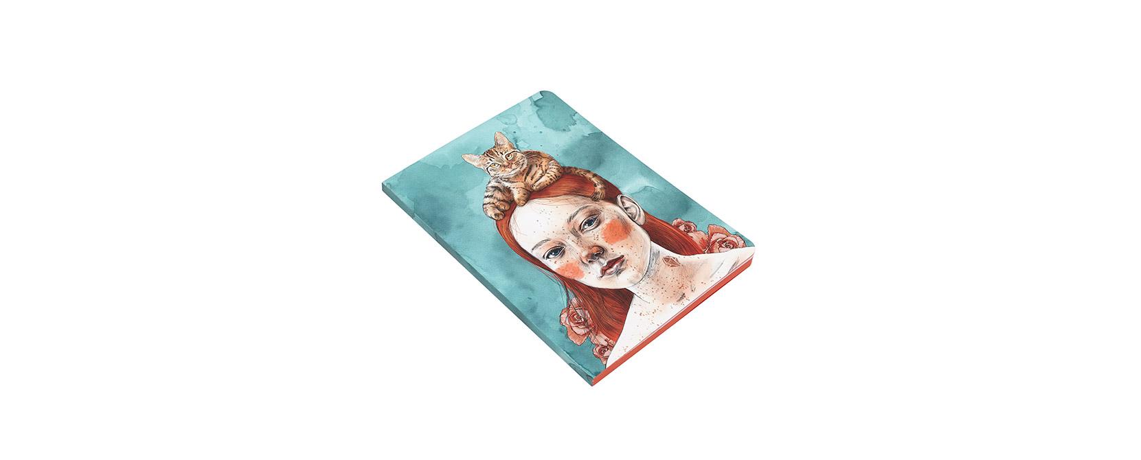 Cuaderno ilustrado Nise - Reina de Diamantes